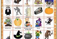 Halloween - vybraná slovní zásoba